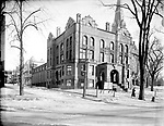 Frederick Stone negative. YMCA, Waterbury, CT., 1925.
