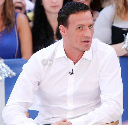NEW YORK, NY-August 29: Ryan Lochte, at Good Morning America to talk about new season of Dancing with the Stars in New York. August 29, 2016. Credit:RW/MediaPunch