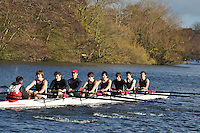037 .CHB-Sexton .IM2.8+ .Christ Church. Wallingford Head of the River. Sunday 27 November 2011. 4250 metres upstream on the Thames from Moulsford railway bridge to Oxford Universitiy's Fleming Boathouse in Wallingford. Event run by Wallingford Rowing Club..