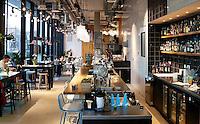 Nederland  Groningen 2016. The Student Hotel. Restaurant The Pool. Foto Berlinda van Dam / Hollandse Hoogte