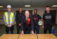 Maidenhead United vice president Pat McDonald - MAIDENHEAD UNITED FA Cup build up - 07.11.2019