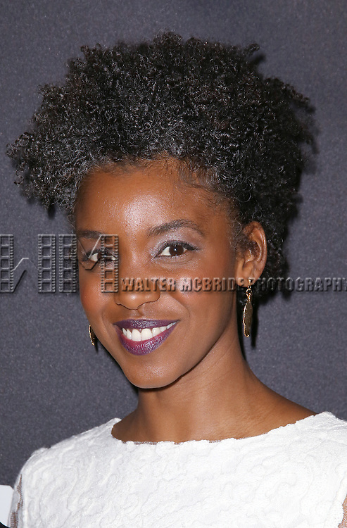 Adeola Role attends the 'Eclipsed' broadway opening night after party at Gotham Hall on March 6, 2016 in New York City.
