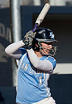 March 10, 2012:   San Diego Toreros Dana Prelsnik bats against the Nevada Wolf Pack  during their NCAA softball game played as part of the The Wolf Pack Classic at Christina M. Hixson Softball Park on Saturday in Reno, Nevada.