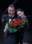 "Cuba Gooding Jr. returns to Broadway in ""Chicago"" with Bianca Marroquin on October 9, 2018 at the Ambassador Theatre in New York City."
