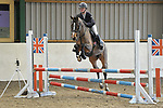 Class 2. British novice. British showjumping juniors. Brook Farm Training Centre. Stapleford Abbotts. UK. 07/01/2018. ~ MANDATORY CREDIT Garry Bowden/Sport in Pictures - NO UNAUTHORISED USE - +44 7837 394578