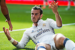 Real Madrid's player Gareth Bale during a match of La Liga Santander at Santiago Bernabeu Stadium in Madrid. October 02, Spain. 2016. (ALTERPHOTOS/BorjaB.Hojas)