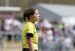 Schiedsrichterin Karoline Wacker <br /> <br />  beim Spiel in der Regionalliga, SV Elversberg &ndash;  1. FSV Mainz 05 II.<br /> <br /> Foto &copy; PIX-Sportfotos *** Foto ist honorarpflichtig! *** Auf Anfrage in hoeherer Qualitaet/Aufloesung. Belegexemplar erbeten. Veroeffentlichung ausschliesslich fuer journalistisch-publizistische Zwecke. For editorial use only.