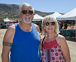 Dan and Joan during the Numaga Indian Days Pow Wow in Hungry Valley on Sunday, Sept. 1, 2019.