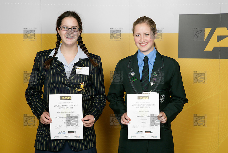 Diving Girls Finalists. ASB College Sport Young Sportsperson of the Year Awards 2006, held at Eden Park on Thursday 16th of November 2006.<br />