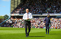 Burnley manager Sean Dyche heads to the technical area<br /> <br /> Photographer Alex Dodd/CameraSport<br /> <br /> The Premier League - Burnley v Arsenal - Sunday 12th May 2019 - Turf Moor - Burnley<br /> <br /> World Copyright &copy; 2019 CameraSport. All rights reserved. 43 Linden Ave. Countesthorpe. Leicester. England. LE8 5PG - Tel: +44 (0) 116 277 4147 - admin@camerasport.com - www.camerasport.com