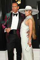 10 February 2019 - Los Angeles, California - Alex Rodriguez, Jennifer Lopez. 61st Annual GRAMMY Awards held at Staples Center. Photo Credit: AdMedia
