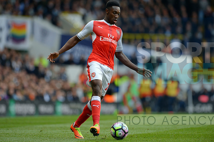 Danny Welbeck of Arsenal during the English Premier League match at the White Hart Lane Stadium, London. Picture date: April 30th, 2017.Pic credit should read: Robin Parker/Sportimage