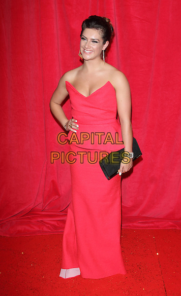 LONDON, ENGLAND - MAY 24: Isobel Hodgins attends the British Soap Awards at Hackney Empire on May 24, 2014 in London, England<br /> CAP/ROS<br /> &copy;Steve Ross/Capital Pictures