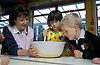 Cooking in preschool nursery, UK