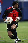10 June 2007: Honduras' Orlin Vallecilo. The Honduras Men's National Team defeated the National Team of Mexico 2-1 at Giants Stadium in East Rutherford, New Jersey in a first round game in the 2007 CONCACAF Gold Cup.