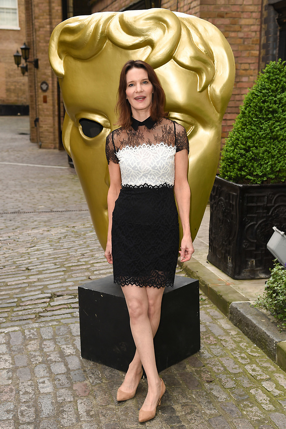 Susie Dent<br /> arriving for the BAFTA Craft Awards 2018 at The Brewery, London<br /> <br /> ©Ash Knotek  D3398  22/04/2018