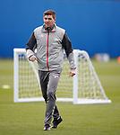 22.11.2019 Rangers training: Steven Gerrard