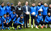 Prince William Visit to West Bromwich Albion Training Ground