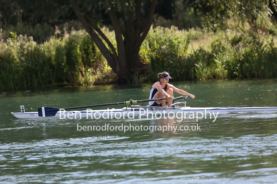 Race: 48: W Tier3 1x  Heat 1<br /> <br /> Peterborough Summer Regatta 2017 - Sunday<br /> <br /> To purchase this photo, or to see pricing information for Prints and Downloads, click the blue 'Add to Cart' button at the top-right of the page.