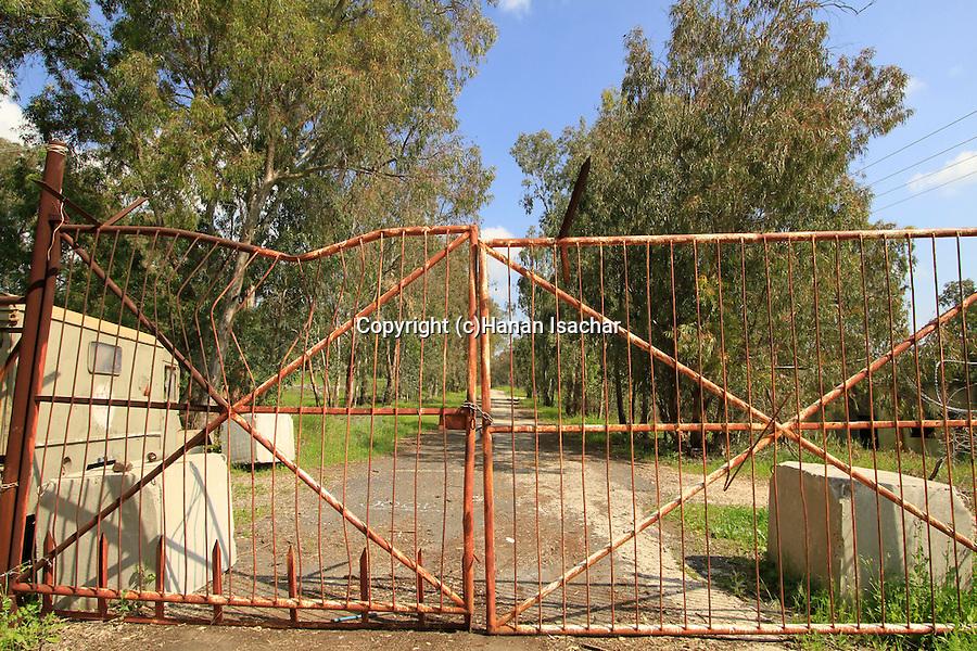 Golan Heights, the road to Ein Tznobar (Ein Reuven)
