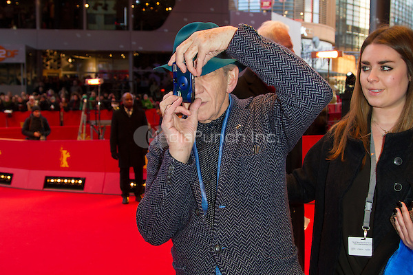 Ian McKellen attending the Mr. Holmes premiere during Berlinale International Film Festival, Berlin, Germany, 08.02.2015. <br /> Photo by Christopher Tamcke/insight media /MediaPunch ***FOR USA ONLY***