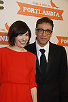 Carrie Brownstein and Fred Armisen attend the Portlandia Season 2 Premiere Screening on January 5, 2012 at the American Museum of Natural History, New York City, New York. (Photo by Sue Coflin/Max Photos)