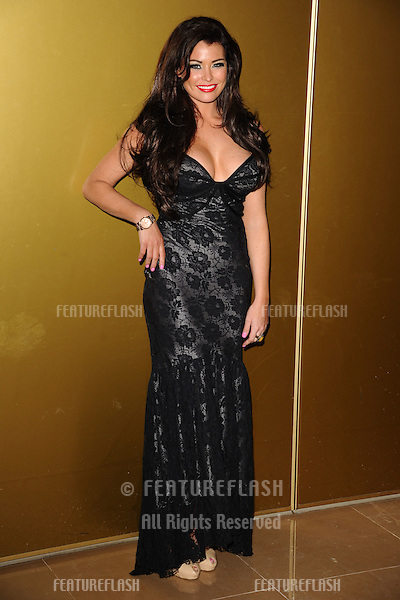 "Jessica Wright arriving for the ""Magic Mike"" premiere at the Mayfair Hotel, London. 10/07/2012 Picture by: Steve Vas / Featureflash"