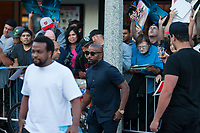Los Angeles, CA - AUGUST 13th: <br /> Jamie Foxx attends the 47 Meters Down: Uncaged premiere at the Regency Village Theater on August 13th 2019. Credit: Tony Forte/MediaPunch