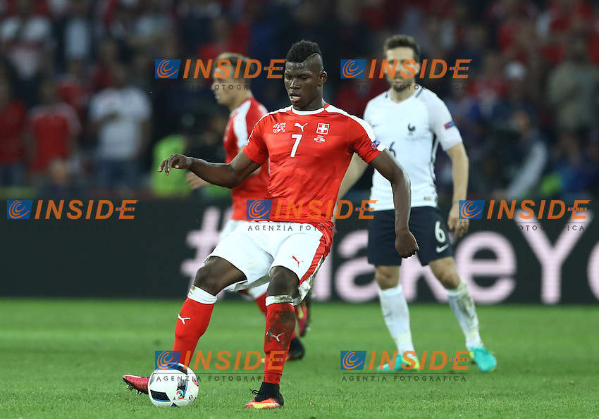 Breel Embolo Switzerland<br /> Lille 19-06-2016 Stade Pierre Mauroy Footballl Euro2016 Switzerland - France  / Svizzera - Francia Group Stage Group A. Foto Matteo Ciambelli / Insidefoto