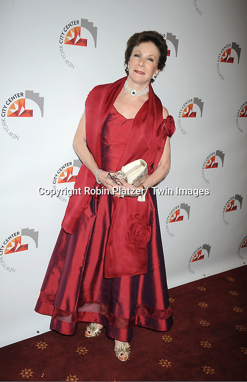 Terri Granoff attends the New York City Center Reopening on October 25, 2011 at City Center in New York City.