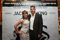 Pictured: Former Swansea player James Thomas (R). Sunday 14 September 2014<br />