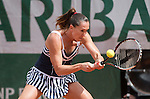 Jelena Jankovic (SRB) defeats Kurumi Nara 7-5, 6-0 at  Roland Garros being played at Stade Roland Garros in Paris, France on May 29, 2014
