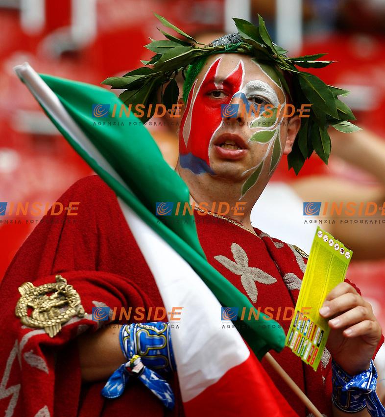 Kaiserslautern 26/6/2006 World Cup 2006 Ottavi di finale Italia Australia 1-0.Photo Andrea Staccioli Insidefoto.Italy fan.Tifoso italiano