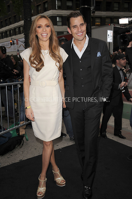 WWW.ACEPIXS.COM . . . . . .April 30, 2012...New York City....Giuliana Rancic and Bill Rancic arriving to attend the E! 2012 Upfront at Gotham Hall on April 30, 2012  in New York City ....Please byline: KRISTIN CALLAHAN - ACEPIXS.COM.. . . . . . ..Ace Pictures, Inc: ..tel: (212) 243 8787 or (646) 769 0430..e-mail: info@acepixs.com..web: http://www.acepixs.com .