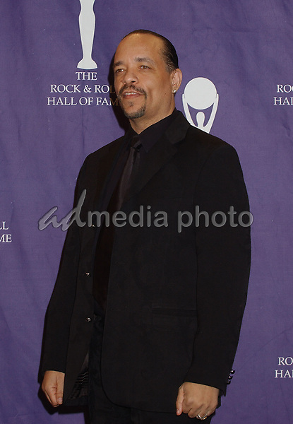 14 March 2005 - New York, New York - Ice-T, Presenter. 2005 Rock and Roll Hall of Fame Induction Ceremony held at the Waldorf Astoria. Photo Credit: Laura Farr/AdMedia