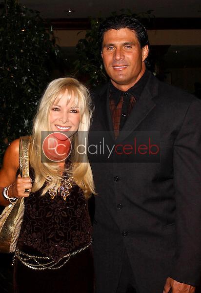 Jose Canseco and friend<br />at the Thalians 50th Anniversary Gala. Hyatt Regency Century Plaza Hotel, Century City, CA. 10-08-05<br />Dave Edwards/DailyCeleb.com 818-249-4998