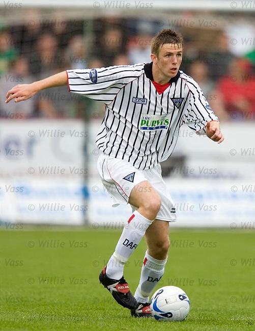 Greg Ross, Dunfermline.stock season 2005-2006.pic willie vass