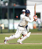 Heino Kuhn bats for Kent during the friendly game between Kent CCC and Surrey at the St Lawrence Ground, Canterbury, on Friday Apr 6, 2018