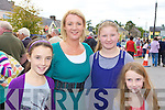 Brid O'Connor, Eileen O'Connor, Claire McCarthy and Emer O'Connor Knocknagree at Rathmore Fair on Sunday