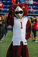 Annapolis, MD - December 27, 2016: Temple Owls mascot during game between Temple and Wake Forest at  Navy-Marine Corps Memorial Stadium in Annapolis, MD.   (Photo by Elliott Brown/Media Images International)