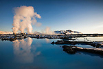 The Blue Lagoon in west Iceland