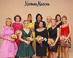 The Houston Chronicle's Best Dressed pose for a photo at the announcement party at Neiman Marcus Wednesday Jan. 28, 2009.  Front row from left: Sheridan Williams, Randa Williams, Phyllis Williams, Kristen Nix and Melissa Mithoff. Back row from left: Jeanie Kilroy, Debra Grierson, Deidra Fontaine, Kelli Blanton and Ericka Bagwell.(Dave Rossman/For the Chronicle)