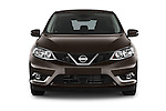 Car photography straight front view of a 2015 Nissan Pulser Acenta 5 Door Hatchback 2WD Front View