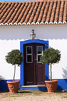 the old farm building door herdade da malhadinha nova alentejo portugal