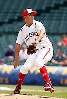 August 8, 2009:  Pitcher Jameson Taillon (19) of Team One during the Under Armour All-America event at Wrigley Field in Chicago, IL.  Photo By Mike Janes/Four Seam Images