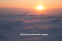 60595-01109 Sunset on tundra, Cape Churchill Wapusk National Park, Churchill, MB