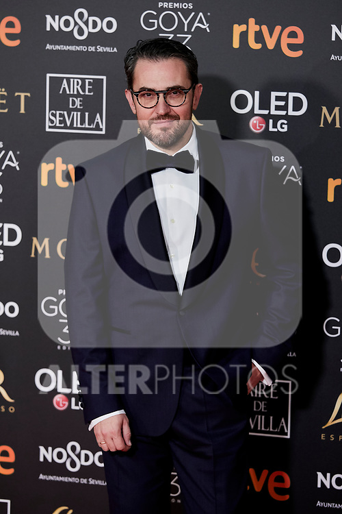 Maxim Huerta attends to 33rd Goya Awards at Fibes - Conference and Exhibition  in Seville, Spain. February 02, 2019. (ALTERPHOTOS/A. Perez Meca)