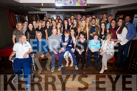 Deirdre Laffin, Oakpark Tralee, celebrating her 21st birthday with family and friends at the Abbey inn on Saturday