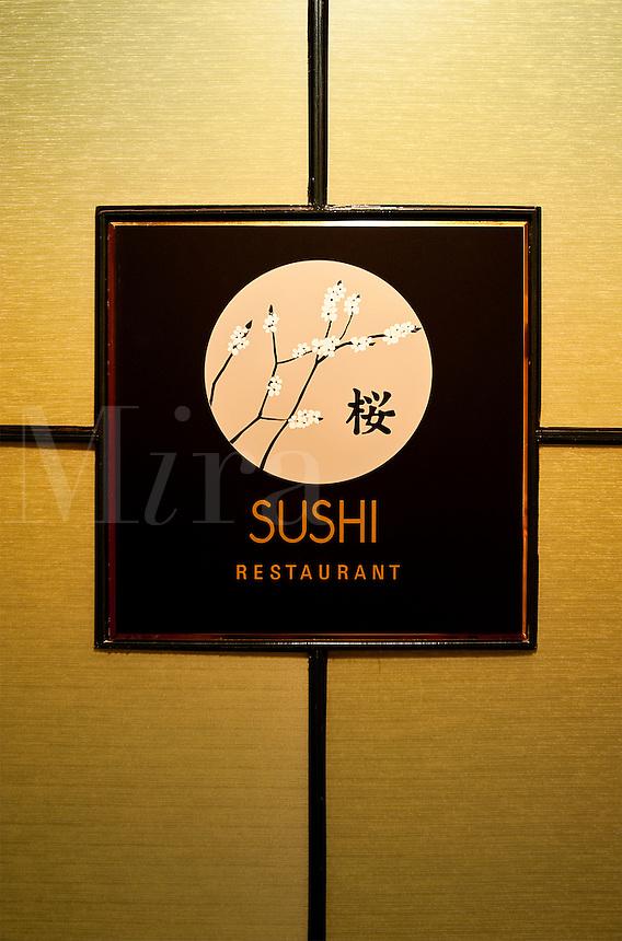 Sushi restaurant.