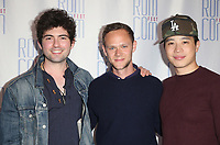 """LOS ANGELES, CA - JUNE 21: Ian Nelson, Joseph Cross, Hayden Szeto, at 2019 Rom Com Fest Los Angeles - """"Summer Night"""" at Downtown Independent in Los Angeles, California on June 21, 2019. Credit: Faye Sadou/MediaPunch"""